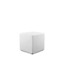 pouf -blanc-40x40 h40