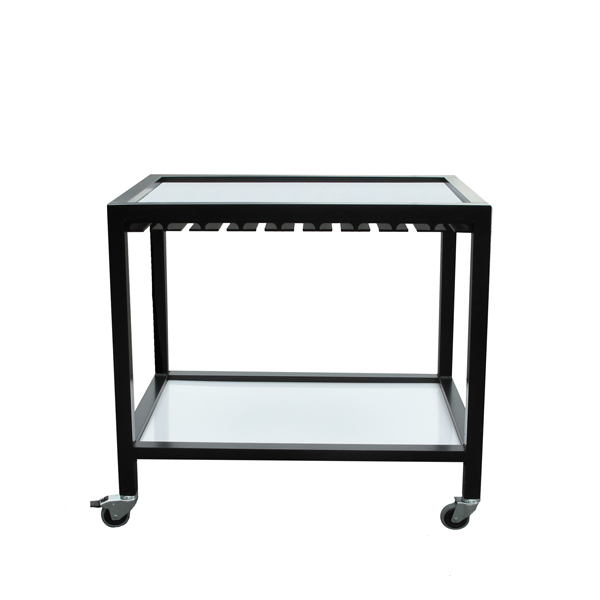 table roulante pliable cheap table roulante pliante roulettes battista by kartell with petite. Black Bedroom Furniture Sets. Home Design Ideas