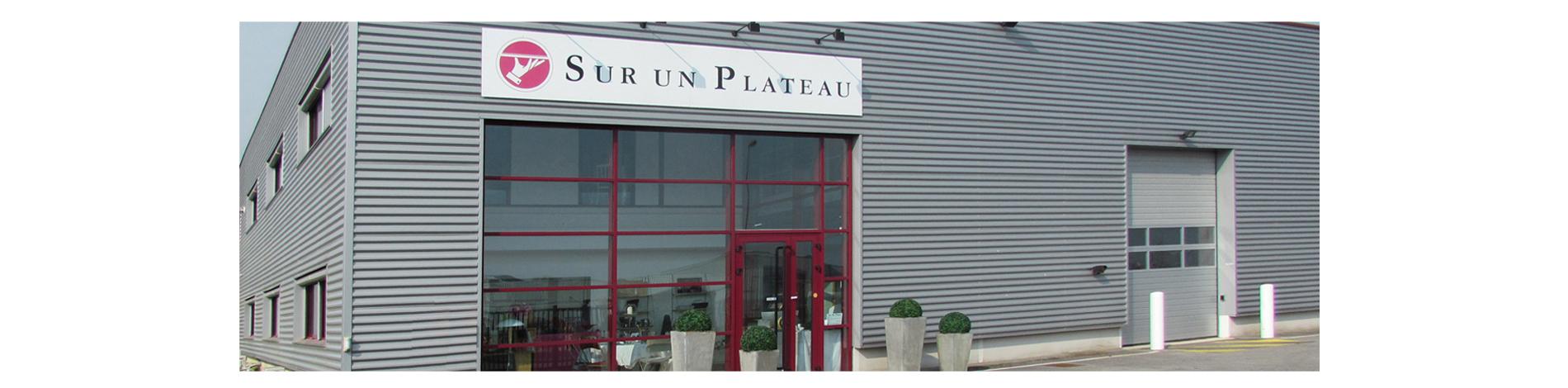 SUR UN PLATEAU, location de matériel de réception