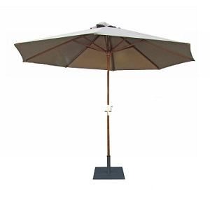 NEW parasol ceylan et socle acier