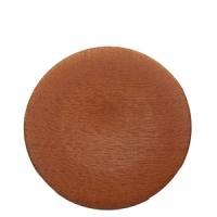 assiette-matisse-marron-cuivre-diam34