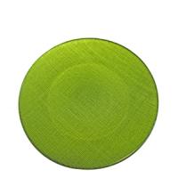 assiette-matisse-pop-vert-olive-diam34